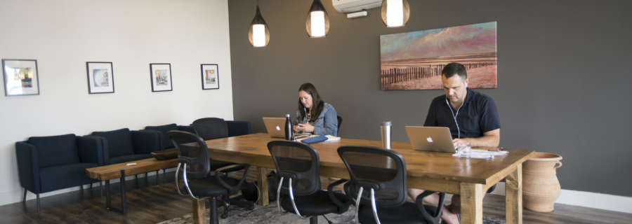 Coworking spaces: a social movement towards higher levels of thriving