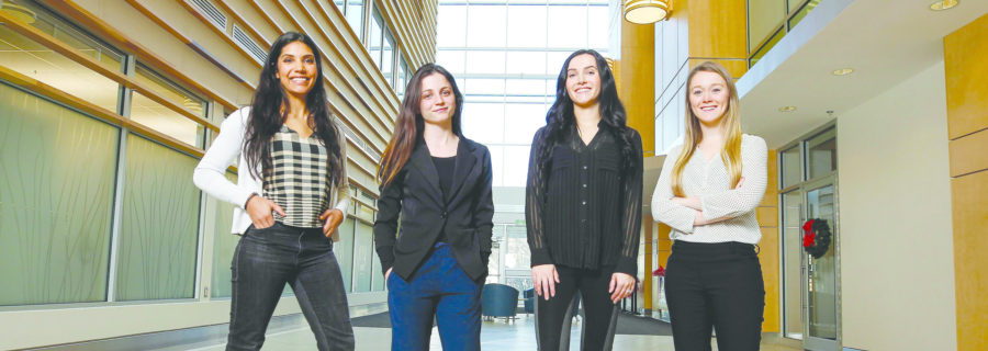 Female scientists shatter glass ceiling