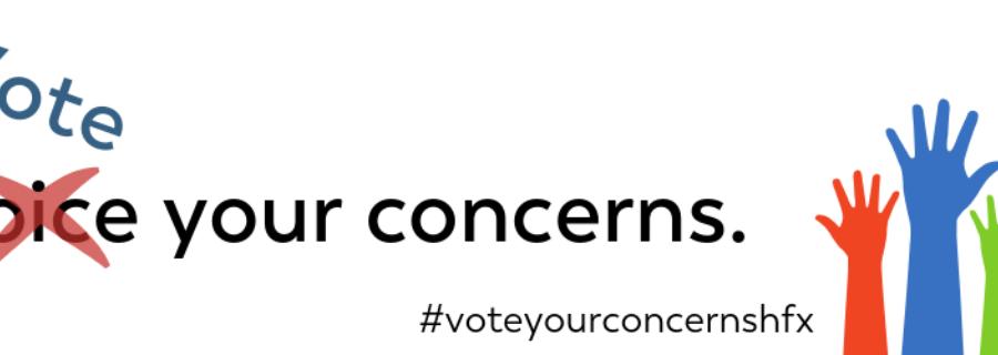 Vote your concerns!