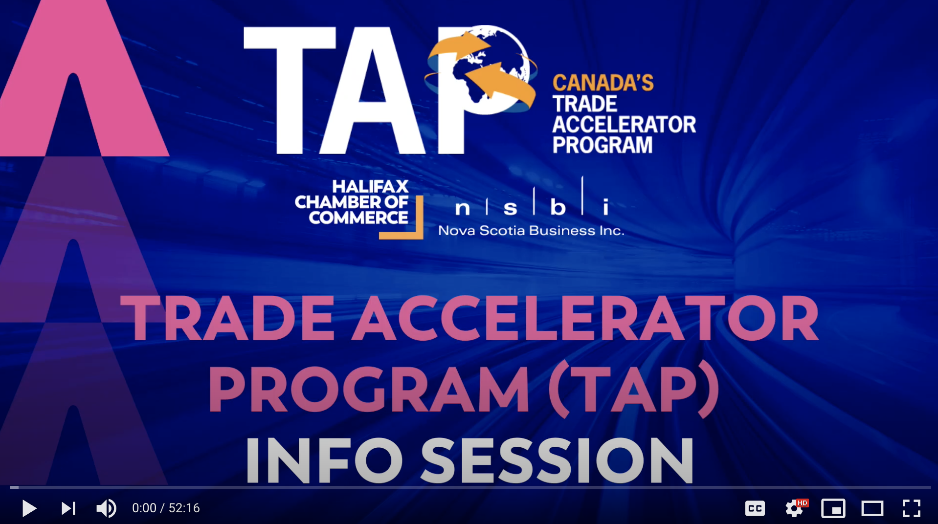 TAP Info Session